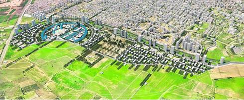 הדמיית תוכנית רחובות מזרח