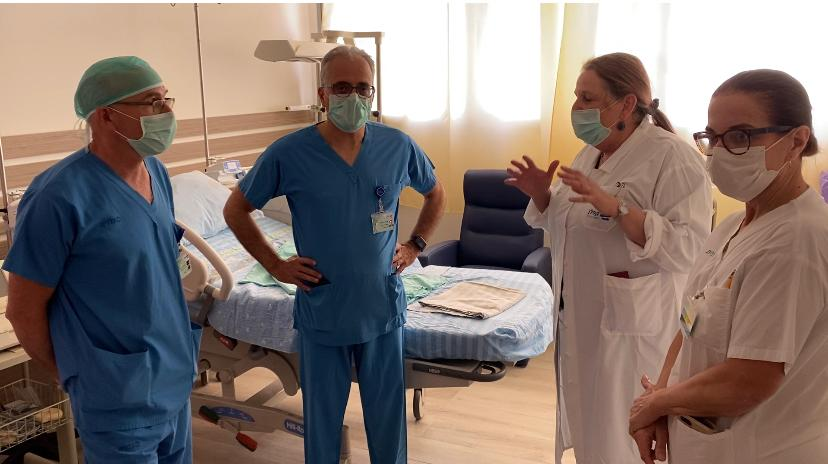 חדר לידה ייעודי לחולות קורונה בקפלן