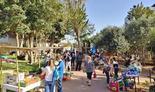 שוק איכרים בחצר של פיינשטיין
