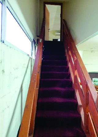 המדרגות החדשות שהוצבו