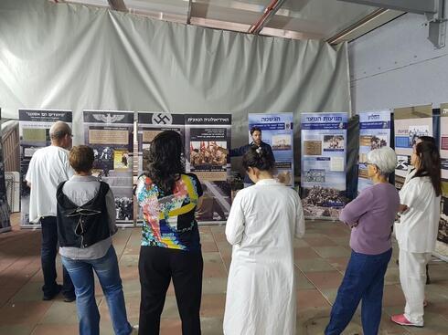 חברי תנועה דרור ישראל, בפעילות עם תושבי העיר