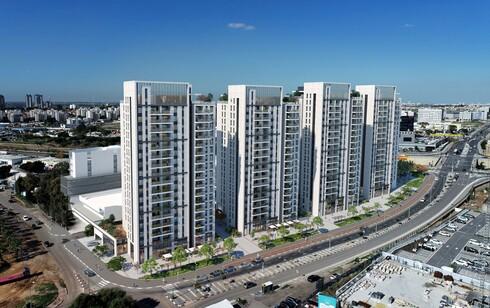 324 דירות בארבעה מגדלים. אמפא