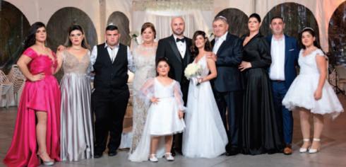 משפחת ללוצשווילי בחתונת האח פיני