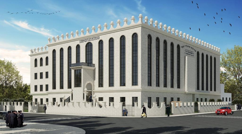בית הכנסת החדש של קרעטשניף. גיוס המונים | צילום הדמייה: באדיבות הקהילה