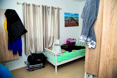 אחד החדרים במרכז בבית שמש   צילום: יואב דודקביץ'