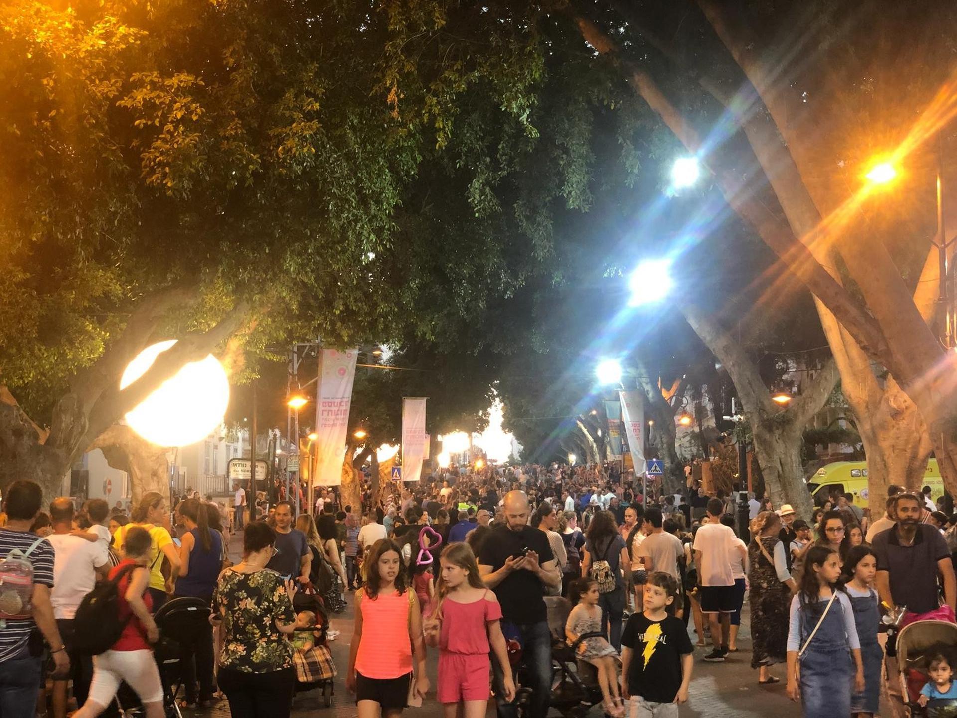 פסטיבל הפסלים ברחובות | צילום: דוברות העירייה