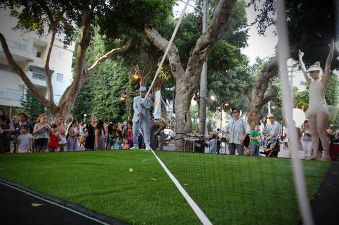 פסטיבל הפסלים ברחובות. צילום: אבי מועלם