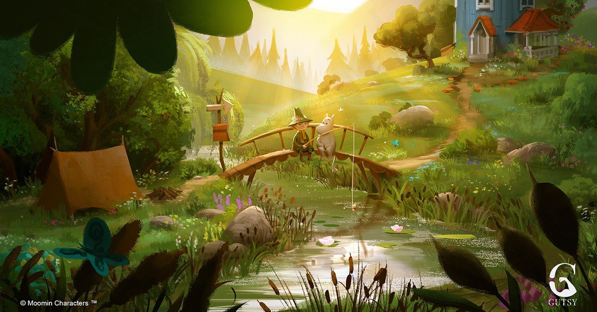 """מתוך הסדרה """"עמק המומונים"""". באדיבות פסטיבל אנימיקס"""