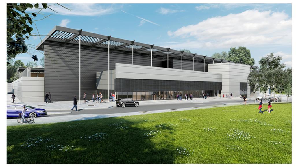 הדמיית האיצטדיון העירוני | באדיבות עיריית רחובות