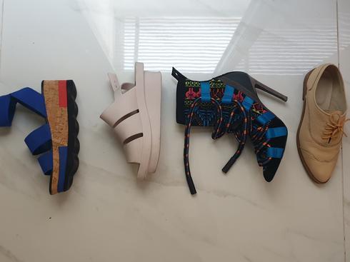 הנעליים של קשת. צילום פרטי