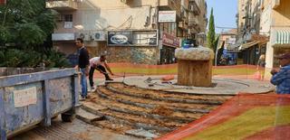 העבודות בעיצומן | צילום: דוברות עיריית רחובות