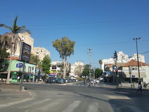 רחוב הרצל פינת יעקב ברחובות | צילום: אביגיל קדם